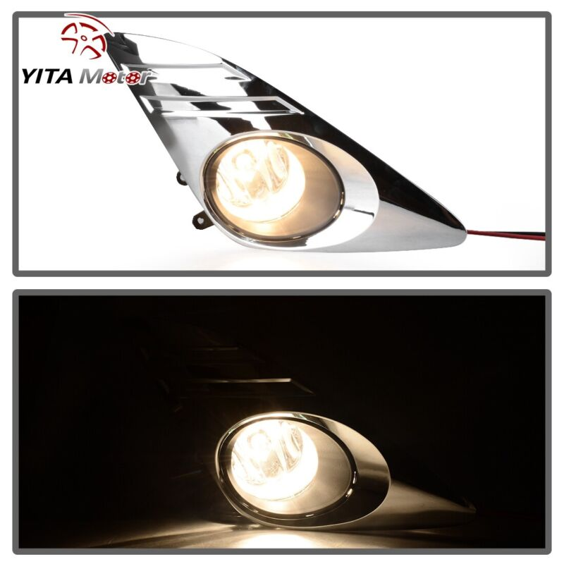 YITAMOTOR for 2012-2014 Toyota Camry Clear Fog Lights ...