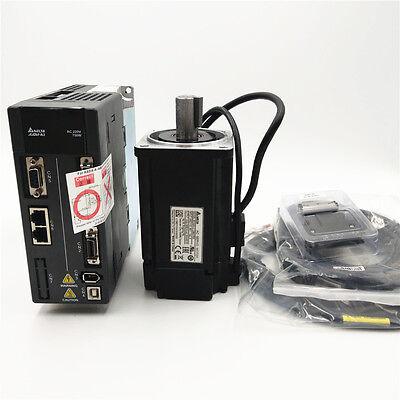 Delta 750w-400w Ethercat Servo Motor Servo Drive Servo Kit 3m Cables New