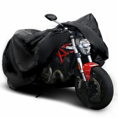 XXL Waterproof Motorcycle Cover All Weather Outdoor Protection Oxford Durable