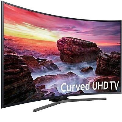 Samsung Un55mu6490fxza Curved 54 6  Led 4K Uhd 6 Series Smarttv  2017 Model