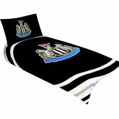 Newcastle United Football Club Reversible Single Duvet Cover Bedding Set