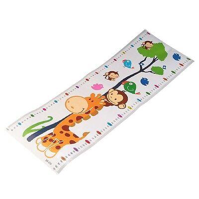 Neueste Abnehmbare Messlatte Wachstum Abziehbild Wandaufkleber Für Kinder ()