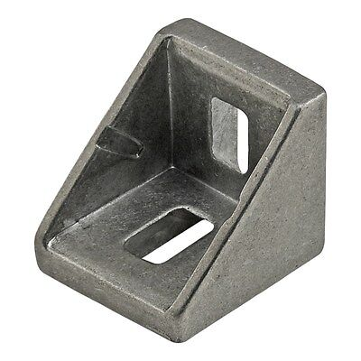 8020 Inc T-slot 2 Hole Corner Bracket 10 20 25 Series 14060 2 Pack N