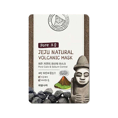 Welcos Jeju Natural Volcanic Pore care Sebum control Mask 1pc korea Cosmetic