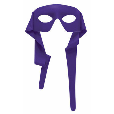 Purple Eye Mask With Ties Eyemask TMNT Donatello Mardi Gras (Tmnt Donatello Maske)