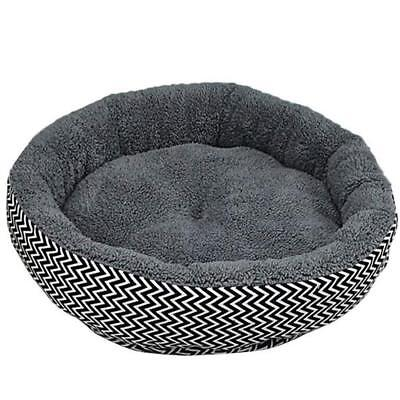 Large Pet Dog Puppy Cat Kitten Pig Round Warm Bed Home House Cozy Nest