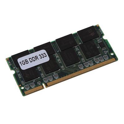 Pc 2700 200 Pin (1GB DDR RAM Speicher Laptop 333MHZ PC2700 NON-ECC PC DIMM 200 Pin DE X1Q8)