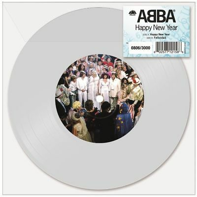 Abba Happy New Year Limited Edition White 7