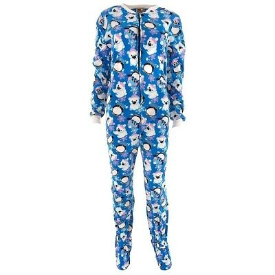 Polar Bears And Penguins (Penguins and Polar Bears Footed Pajamas for)