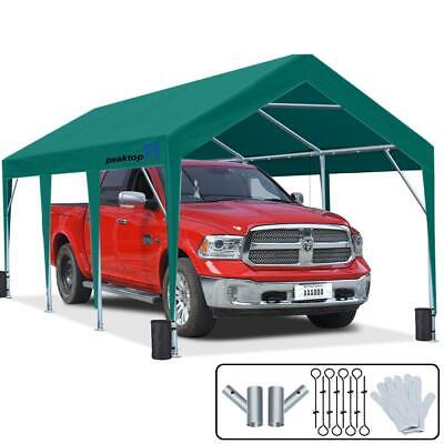 10X20 FT Outdoor Awnings Canopy Shelter Heavy Duty Carport G