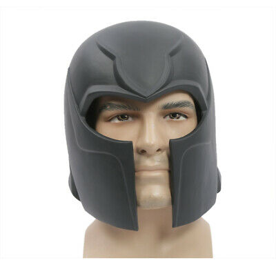 Diy Halloween Costumes Adults (XCOSER Magneto DIY Masks X-Men Cosplay Costume PVC Helmet Halloween Props)