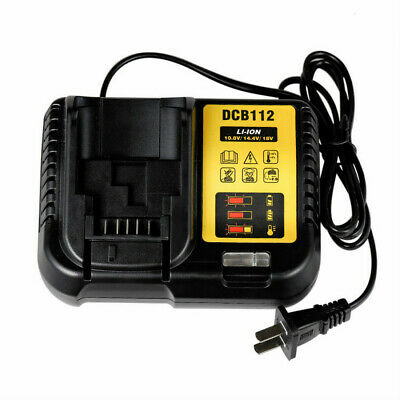 Dcb112 Lithium Battery Charger For Dewei Dewalt 14.4v18v20v Fast Charge