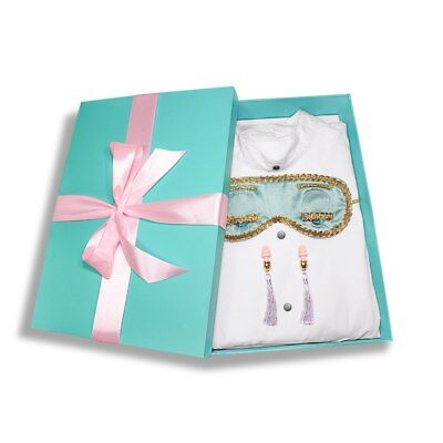 Audrey Hepburn Breakfast at Tiffany's Complete Sleep Set Holly Golightly Costume - Breakfast At Tiffany's Costume