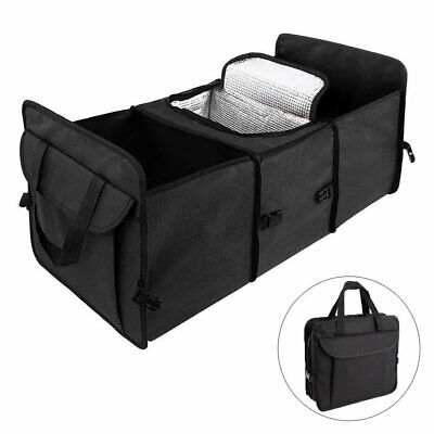 Expandable Interior Pocket - Car Trunk Organizer Oxford Cloth Trunk Cooler Storage Bag Expandable Side Pocket