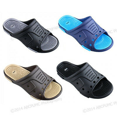 Men's Massage Sandals Flip Flops Slide Sport Shower Beach Sl