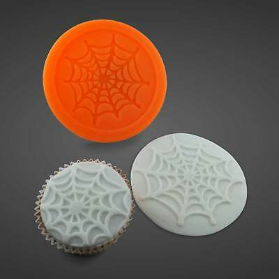 Silikonform Silikon Mould Muffin Cupcake Halloween Spinnennetz