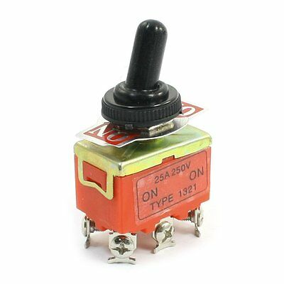 Dpdt Self Locking Onon 2 Position Toggle Switch 250v 15a W Cover
