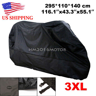 3XL Waterproof Motorcycle Cover For Honda Goldwing Valkyrie Rune GL 1500 1800 - Goldwing Motorcycle Cover