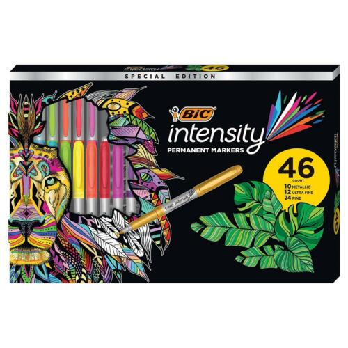 BIC Intensity Permanent Markers, 46 ct. - Assorted Colors