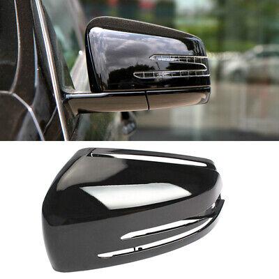 Links Außenspiegel Abdeckung Schwarz Für Benz CLA A B C E S W204-Redesign W212