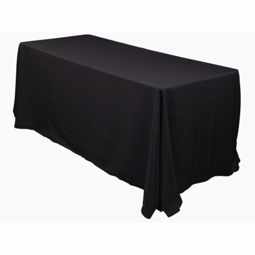 LinenTablecloth 90 x 156-Inch Rectangular Polyester Tableclo