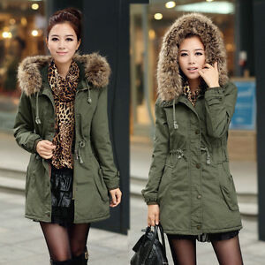 New-Womens-Ladies-Faux-Fur-Hooded-Jacket-Warm-Winter-Zip-Up-Parka-Coat-Outerwear