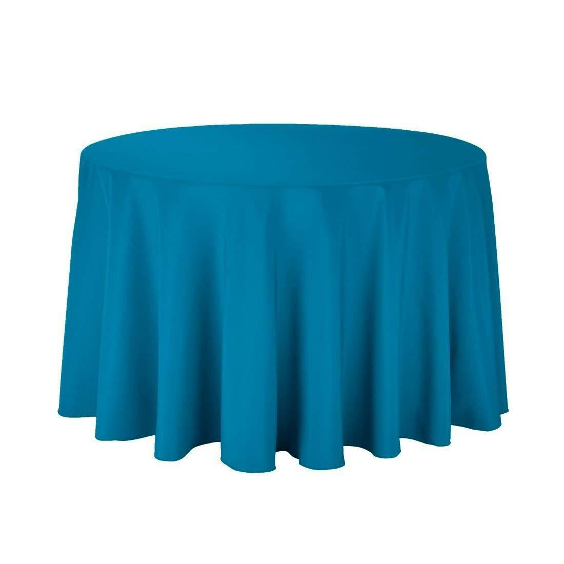 round tablecloths for circular table cover washable