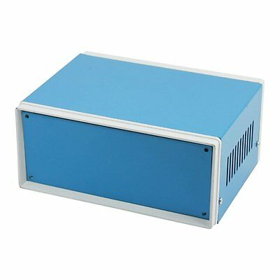 6.7 X 5.1 X 3.1 Blue Metal Enclosure Project Case Diy Junction Box F8z7