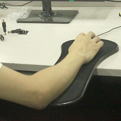 Schreibtisch-arm (Büro-Computer-Stuhl Schreibtisch-Armlehne Rote Mausunterlage mit Handgelenk-Rest)