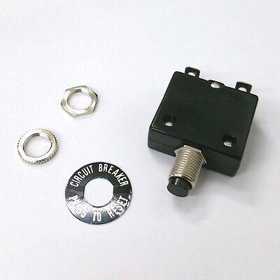 12 Amp Pushbutton Circuit Breaker Joemex Pe7412 12a