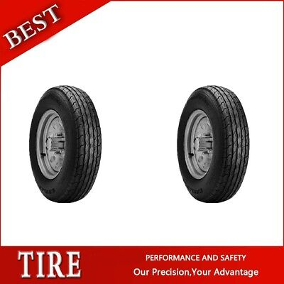 2PCS New CARLISLE Tyres SPORT TRAIL LH ST530-12 Tires ST530 12 Trailer