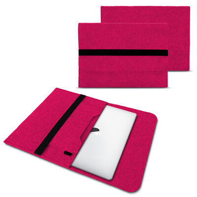 Sleeve Hülle Für Apple Macbook Air Tasche Laptop Cover  Filz 13,3 Zoll Pink Case ()