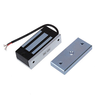 132lb Kit Electric Door Lock Fail Secure Magnetic Access Control System 12V  DT
