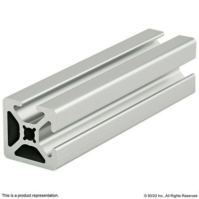 8020 Inc 10 Series Two Adj T-slot Smooth Aluminum Extrusion 1002-s X 96.5 Long N