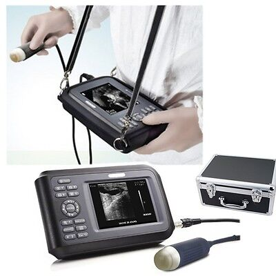 Portable Laptop Vet Ultrasound Scanner Machine Handscan Animal Veterinary Case