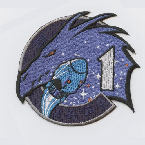 Space-X Crew 1 AB EMBLEM NASA PATCH
