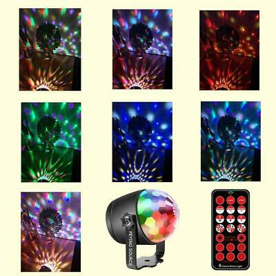 Disco Ball Night Light (Disco Ball Colorful Party Stage Light Sound Activated 2 in 1 Night Light)