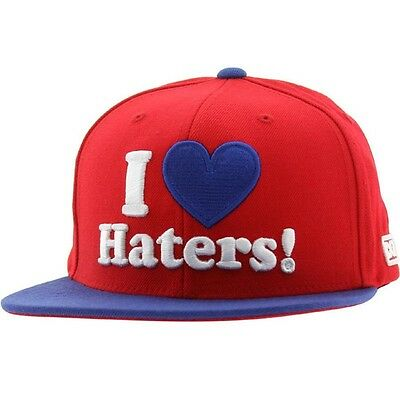DGK Haters Snapback Cap (red / royal)