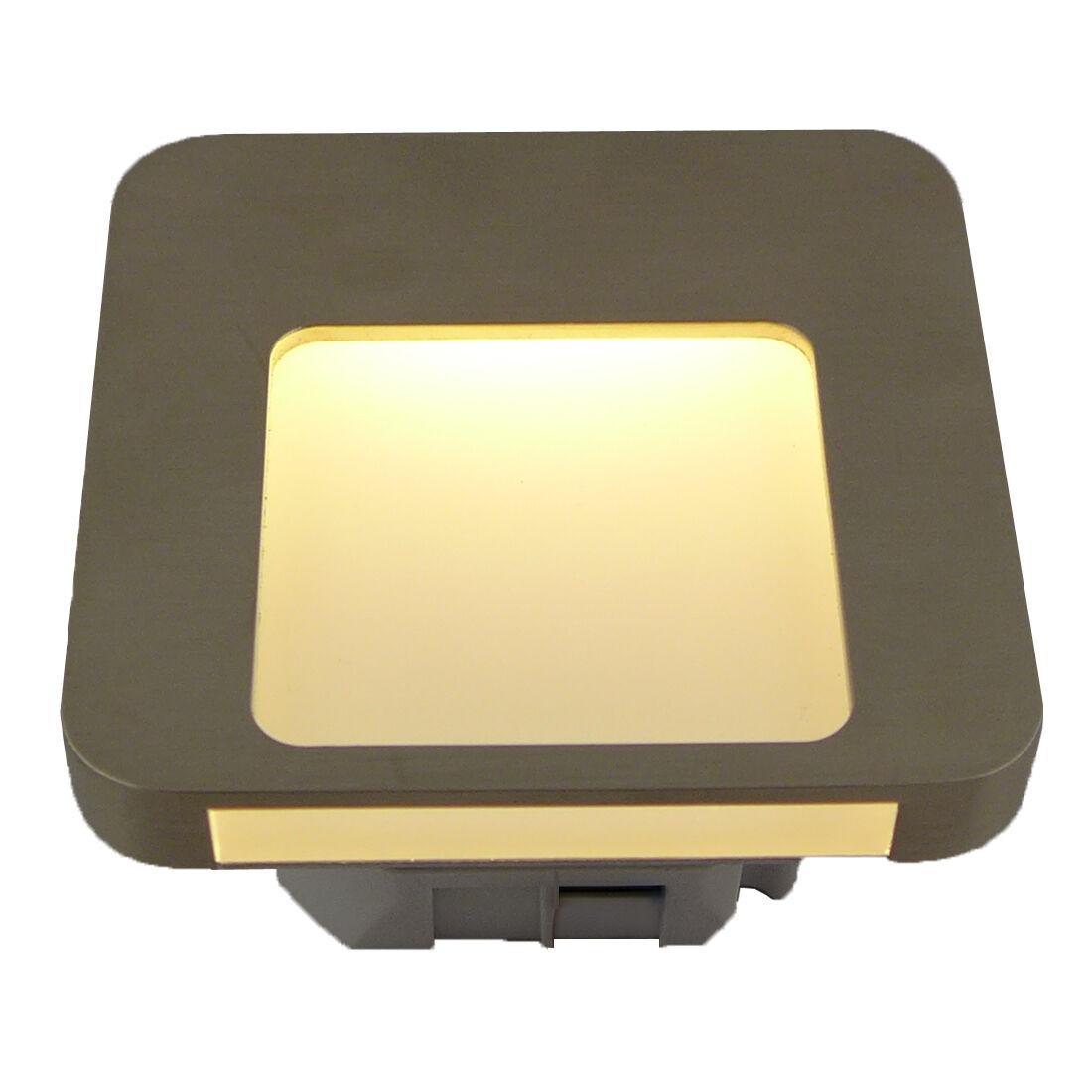 moza 230v edelstahl led treppenbeleuchtung wandbeleuchtung. Black Bedroom Furniture Sets. Home Design Ideas