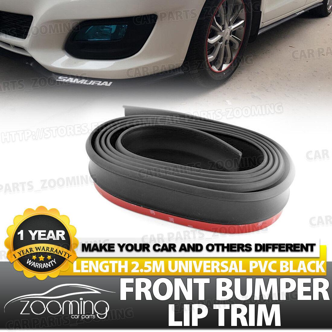 2.5M Car Front Lip Carbon Fiber Bumper Anti Scratch Protection Strip Stickers