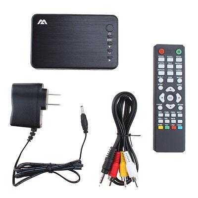 1080P HD HDMI Media Player RMVB MKV SD SDHC USB JPEG Remote+Optical Audio output
