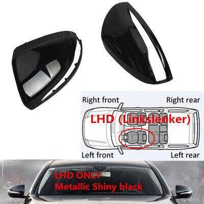 Spiegelkappen Schwarz lackiert Für Benz W205 W213 C238 Coupe W222 C217 CLS GLC