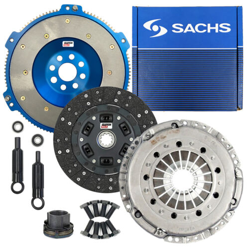 SACHS STAGE 2 PERFORMANCE CLUTCH KIT+ALUMINUM FLYWHEEL BMW M3 Z3 M COUPE S50 S52
