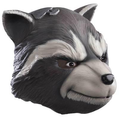 Guardians Of The Galaxy 2 Rocket Waschbär Erwachsene Ganzkörper-kostüm Maske ()