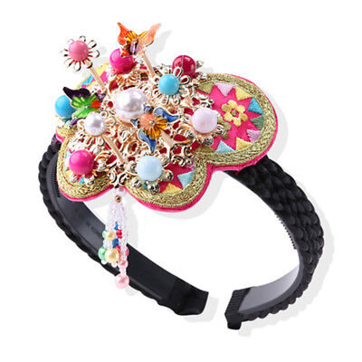 Hanbok Korean Headband Hairband Daenggi traditional Accessory Dress Pigtail bend