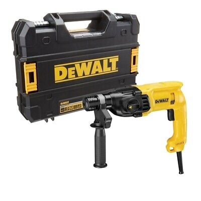 Dewalt D25033K 3 Mode Corded SDS  Plus Hammer Drill 710W With Carry Case 240V (Dewalt Corded Drill)