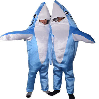 Whale Shark Mascot Costume Cosplay Material Adults Size Jumpsuit Clothing Xmas  - Cosplay Materials