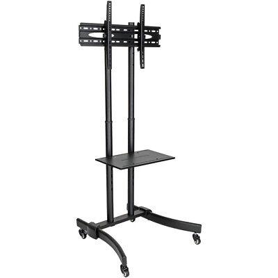 37 Flat Panel Tv Stand (Tripp Lite TV Mobile Flat-Panel Floor Stand Cart Height Adjustable LCD- 37