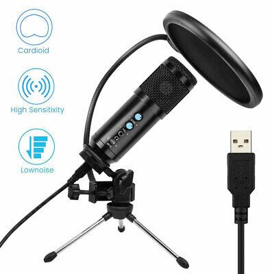 usb audio condenser microphone kit live studio