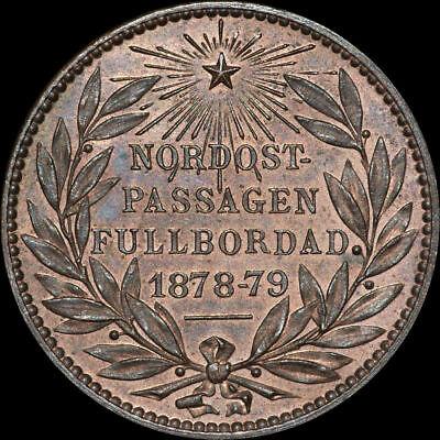 SCHIFFFAHRT: ADOLF ERIK NORDENSKIÖLD - ENTDECKUNG NORDOST-PASSAGE 1878-79.